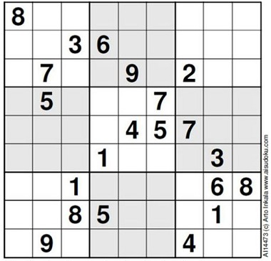 The Worlds Hardest Sudoku Which Telegraph Rated 11 Out Of 5 Stars Artos Web Site Has More Information On How Puzzles Are